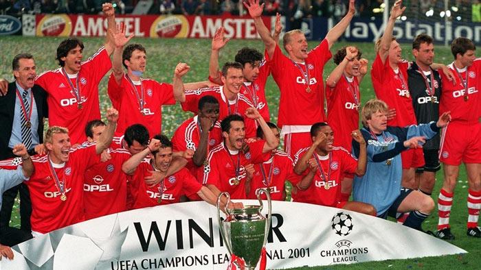 قهرمانی بایرن مونیخ در لیگ قهرمانان اروپا سال 2001