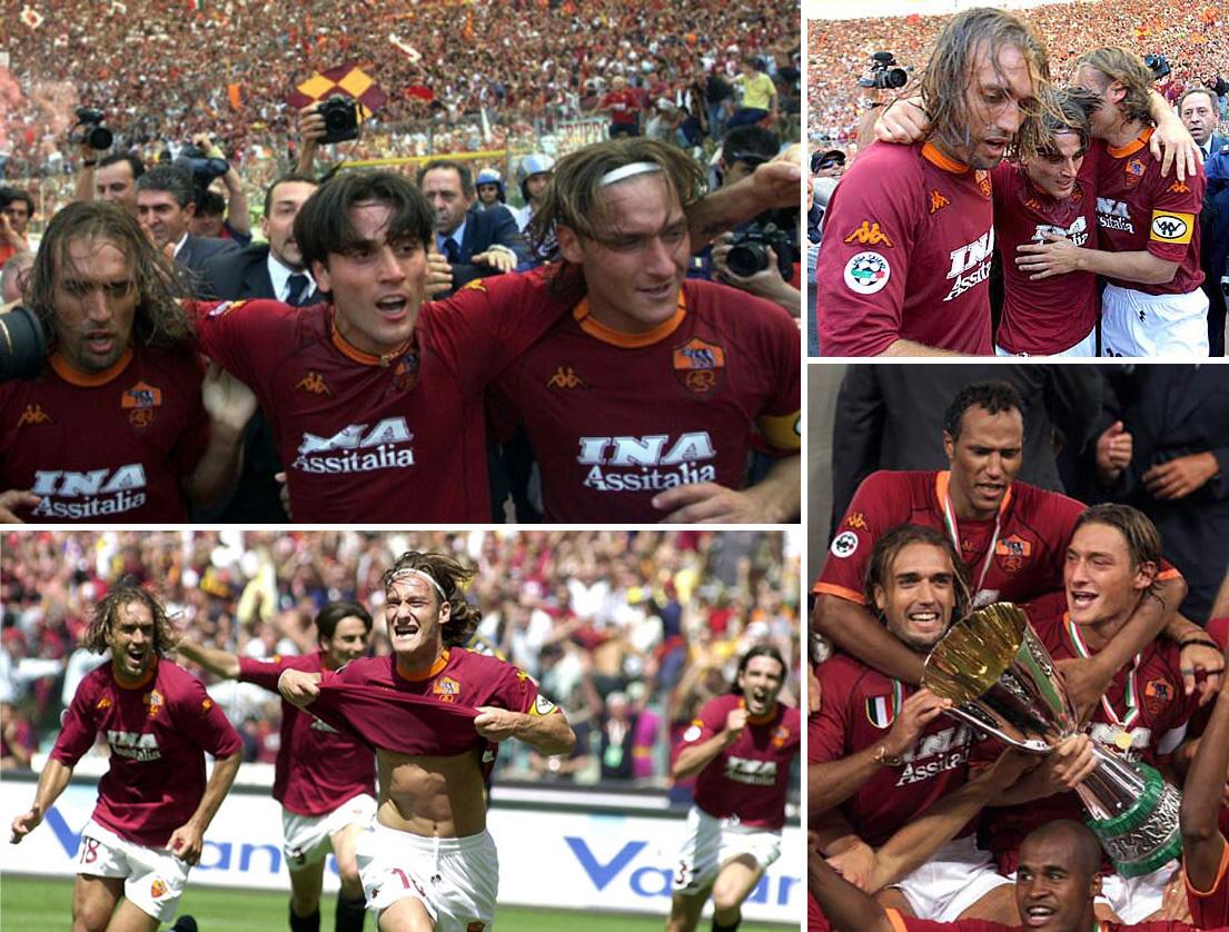 سومین قهرمانی آ اس رم در سری آ - فصل 2001-2000